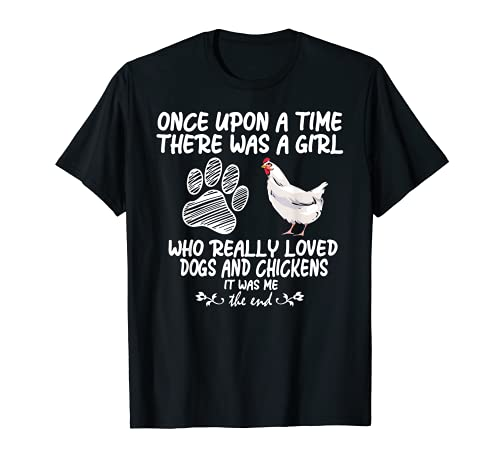 funny chicken shirts for women funny dog tee farmer girl dog T-Shirt
