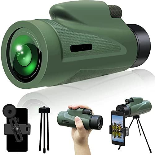 LBMTFFFFFF Spotting Binocularsspotting Binocularsbeginner Spotting Binoculars Kleines Fernglas 12x50 High List Fernglas Wasserdichtes Outdoor-Fernglas für Erwachsene Niedriges Licht Nachtsicht
