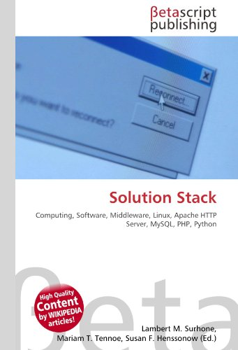 Solution Stack: Computing, Software, Middleware, Linux, Apache HTTP Server, MySQL, PHP, Python