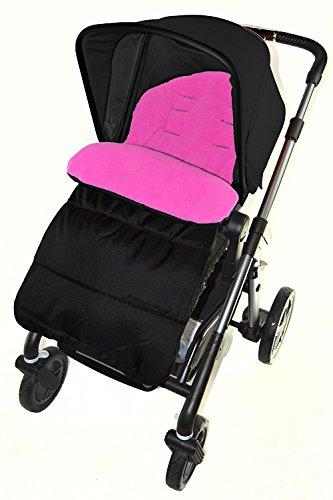 Saco/Cosy Toes Compatible con Joie Aire Lite cochecito carrito de bebé, color rosa