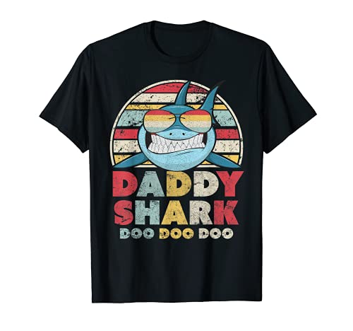 Daddy Shark Shirt, Gift For Dad T-Shirt