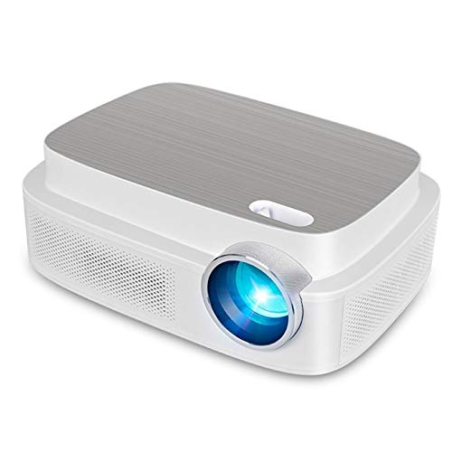 XWX Mini Projector, Portable Full Color LED LCD Video Projector For Children Present Video TV Movie Party Game Outdoor Entertainment