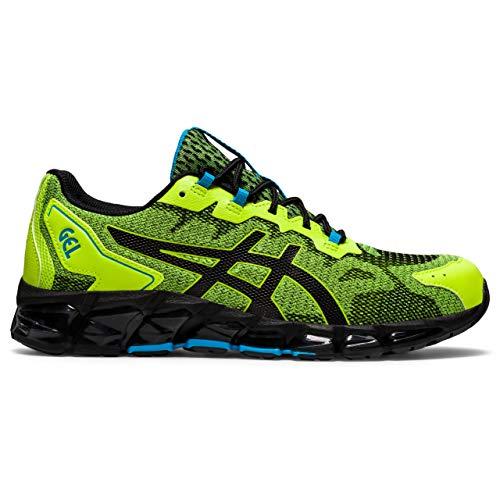 ASICS Gel-Quantum 360 6, Chaussures de Course à Pied Homme, Vert Citron Noir, 40 EU
