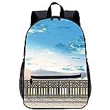 3D Escolar Mochila con mochila escolar Quiero comerme tu páncreas Adecuado para: estudiantes de primaria y secundaria, la mejor opción para viajes al aire libre Tamaño: 45x30x15 cm / 17 pulgadas M