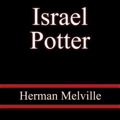 Israel Potter audiobook cover art