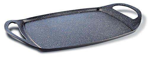 Pensofal Biostone Plancha Grill, Negro, 47x29x4 cm