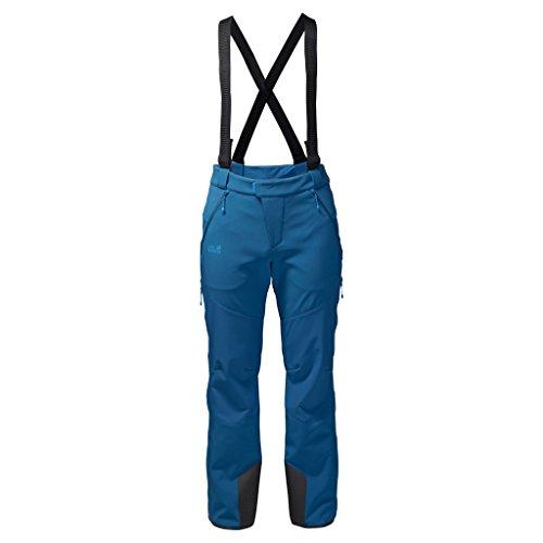 Jack Wolfskin M Nucleon Pants Blau, Herren Hose, Größe 56 - Farbe Glacier Blue