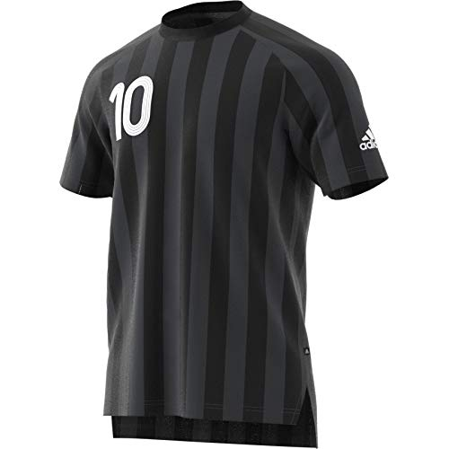 adidas Tanip CC JSY Camiseta, Hombre, Negro (Negro/Griosc/Blanco), L