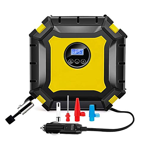 Bomba Eléctrica Inflador Infladora De Neumático Aire Patinete - Bomba Inflador Compresor Ruedas Coche Neumáticos Inalámbrico, Compresor Bomba De Inflado Aire Bicicleta Portatil Profesional