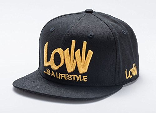 Seker Tuning LIAL-BASECAP-BG Snapback Cap Caps, Schwarz/Gold