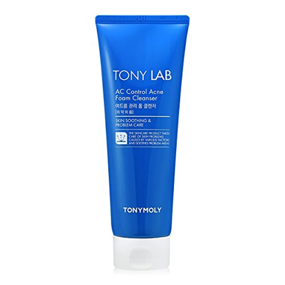 暫定打撃変更[New] TONYMOLY Tony Lab AC Control Acne Foam Cleanser 150ml/トニーモリー トニー ラボ AC コントロール アクネ フォーム クレンザー 150ml