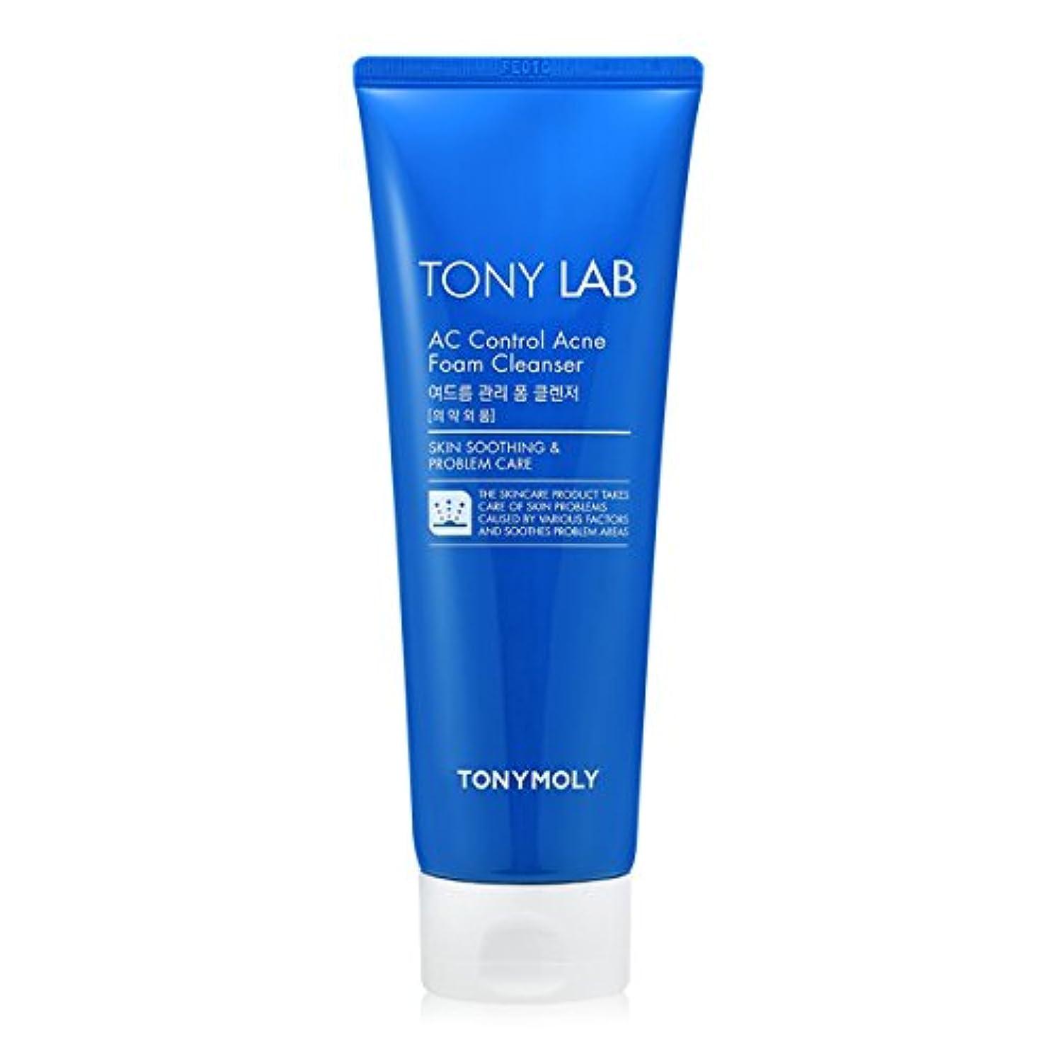 吸うフィドル機関[New] TONYMOLY Tony Lab AC Control Acne Foam Cleanser 150ml/トニーモリー トニー ラボ AC コントロール アクネ フォーム クレンザー 150ml [並行輸入品]