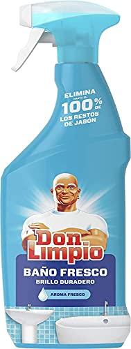 Don Limpio Baño Detergente en Spray, Elimina Hasta el 100 100% de los Restos de Jabón y Está Fabricado con Electricidad 100 100% Renovable, Multi, 720 Mililitros