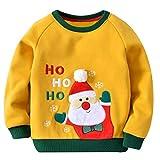 Kinder Weihnachtspulli Weihnachtsmann Ho Ho Ho