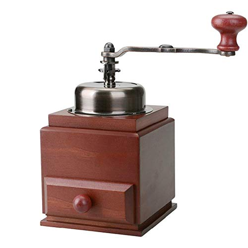 手動トラベルコーヒーメーカーマニュアルコーヒーグラインダーハンドコーヒー豆の粉砕機節約粉を節約する粉のコーヒーグラインダーキャンプ、旅行、オフィスに最適な(色:赤、サイズ:ワンサイズ) YXF99 (Color : Red, Size : One Size)