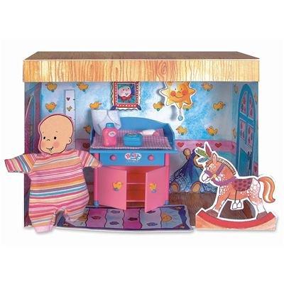 Preisvergleich Produktbild Baby Born® miniworld 766286 - Baby Born® miniworld Wickeltisch Set