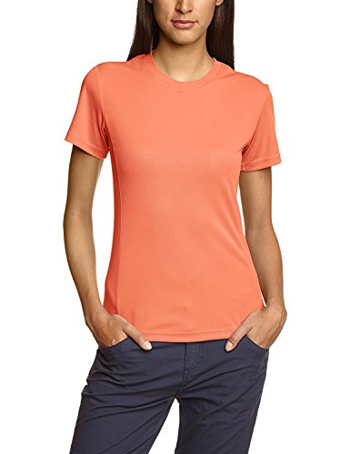 Northland Professional Cooldry T-Shirt à Manches Longues pour Femme FR:46 Orange - Fluo Nectarine