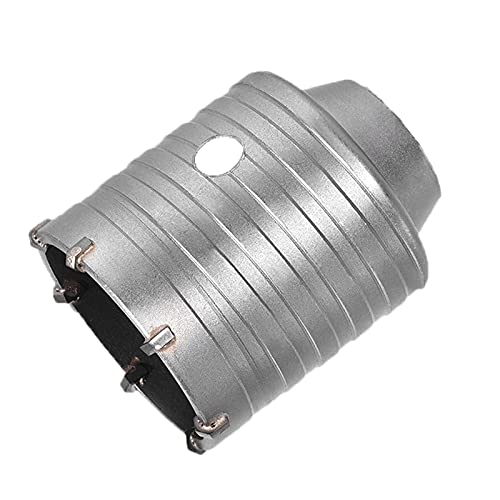 Elepcute Brocas de hormigón de 55 mm – Carburo TCT agujero de pared cortador de sierra con taladro piloto para enchufe abierto adaptador / caja de descarga