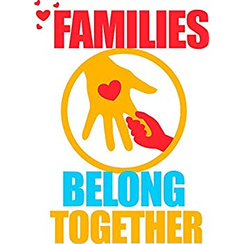 End Immigrant Family Separations Families Belong Together Vinyl Decal Bumper Wall Laptop Window Sticker 5