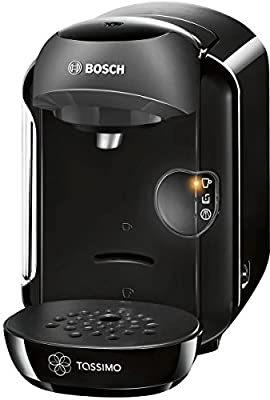 Bosch Tassimo Vivy Hot Drinks and Coffee Machine, 1300 W - Black