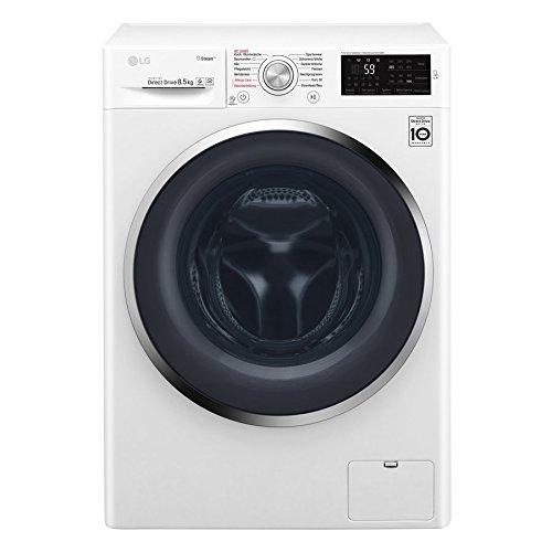 LG F 14WM 8P5KG Waschmaschine Frontlader / A+++ / 1400UpM / Weiß / Steam Funktion: Die...