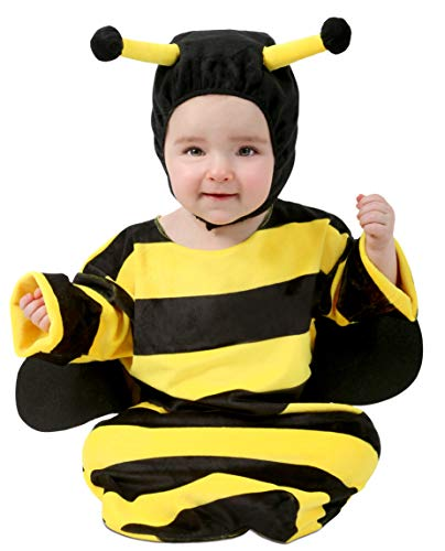Princess Paradise Baby/Toddler Sweet Little Bumble Bee Costume Bunting, As Shown, 0-6 Months