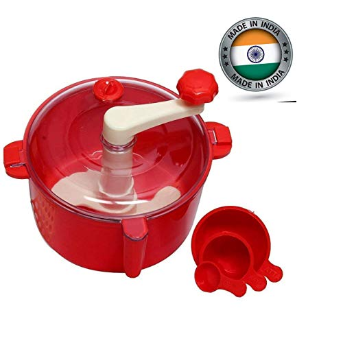 KartAvenue Atta Maker Machine Non Electric | Dough Maker for women | Easy Atta Maker| Food Processor | Manual Flour processor