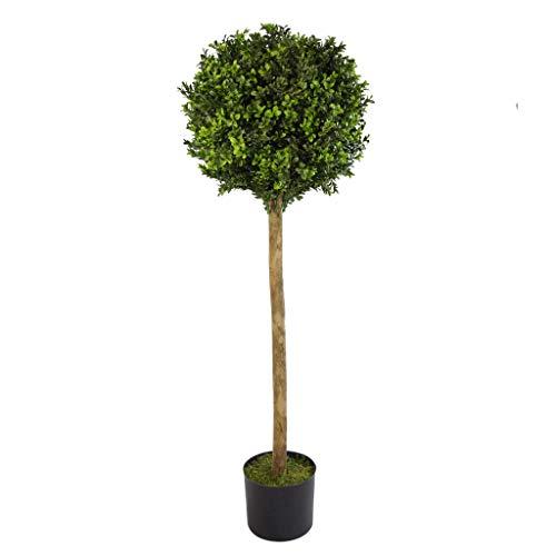 Leaf Árbol de boj Artificial de 120 cm, Large
