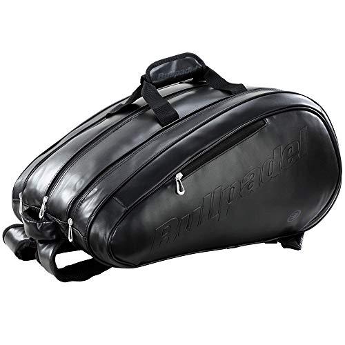 Paletero Bullpadel Avant S Leather Black LTD