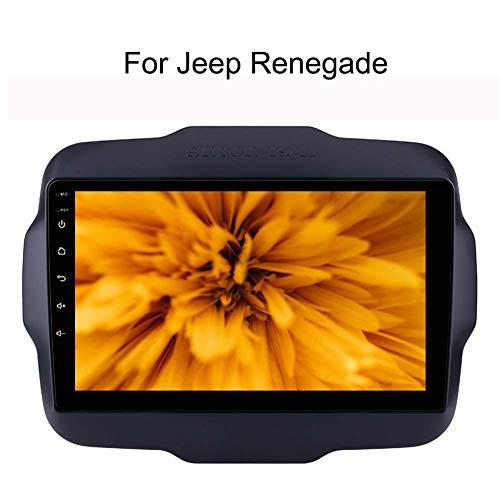 per Jeep Renegade 9 Pollici Il Sistema di Navigazione GPS Navi 2 Stereo DIN Android autoradio con GPS Bluetooth WiFi Touchscreen Car Player