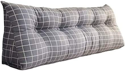 Bedside Cushion Triangle Double NEW Weekly update Sofa Large Nordic Backrest Sty