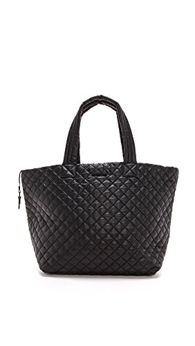 MZ Wallace Women's Large Metro Tote, Black, One Size