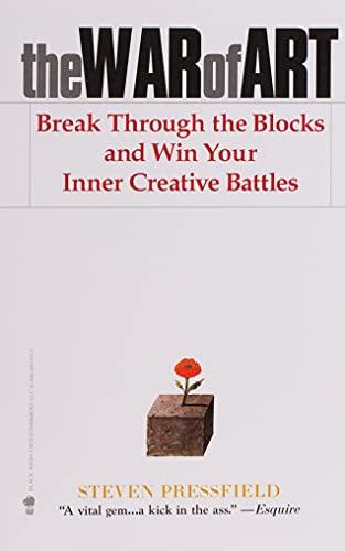 The war of art: break through the blocks and win your inner creative...