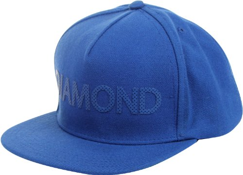 Diamond Supply Co. - - Diamond équipe Snapback Hat, O/S, Blue/Blue