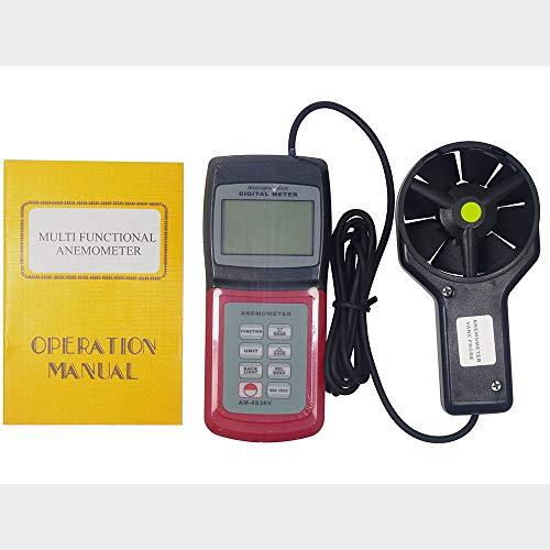 ZHLZH Anemómetro/Medidor de Velocidad Viento Aire/Aire Medidor, Anemómetro Multifuncional