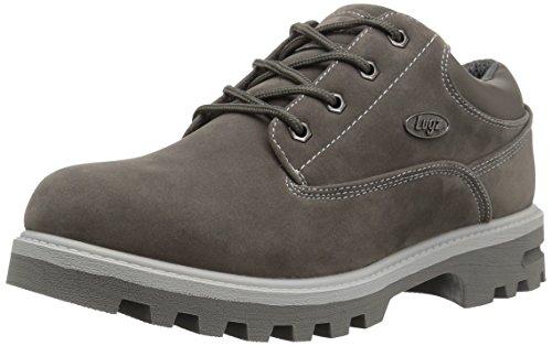 Lugz mens Empire Lo Wr Fashion Boot, Charcoal/Grey, 12 US
