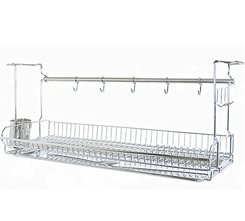 INEX Stainless Kitchen Cabinets Mount Dish Drying Shelf Kitchen Organizer