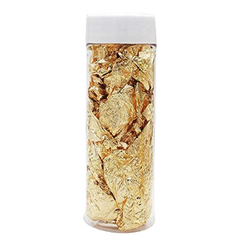 TOPofly Hojas de Pan de Oro, Papel de Aluminio jabón de la...