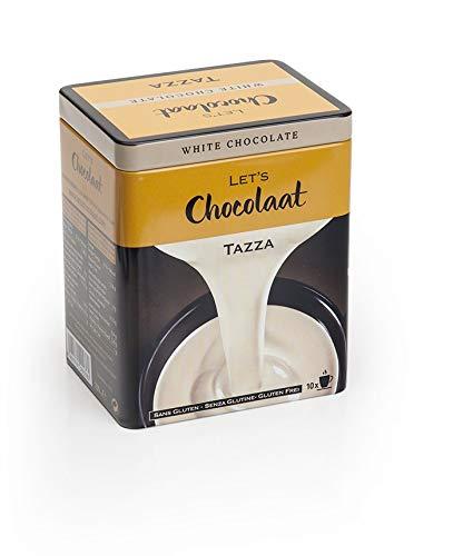 Lets Chocolaat Chocolate a la Taza, Lata 10 sobres monodosis de 25g , sabor Blanco, 250g