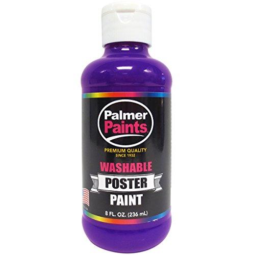 Washable Poster Paint 8Oz-Purple
