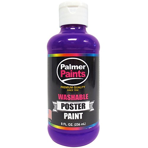 Washable Poster Paint 8Oz-Purple
