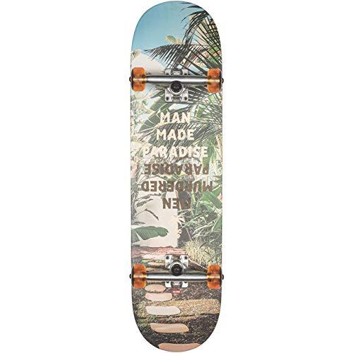 Globe G1 Man Made Skateboard, Erwachsene, Unisex, Paradise (Mehrfarbig), 8.375 Zoll