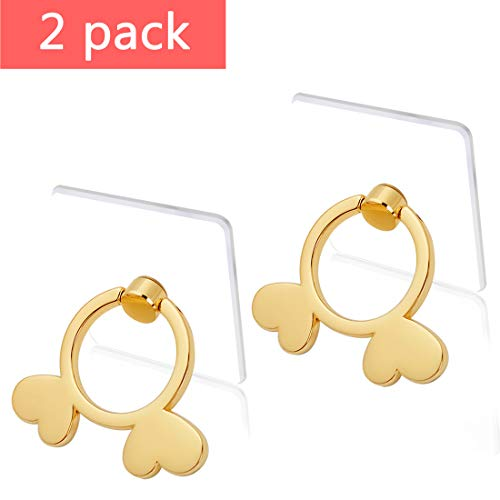 Transparent Cell Phone Ring Holder-(2 Pack) 360 Degree Rotation Gold Phone Ring Holder Clear Stand Finger Ring Kick-Stand Compatible Various Mobile Phones or Phone Cases