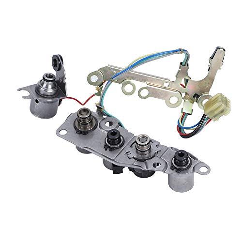 Transmission Shift Control Solenoid for Maxima Sentra Altima 2000-2006 31940-85X01, Color Silver