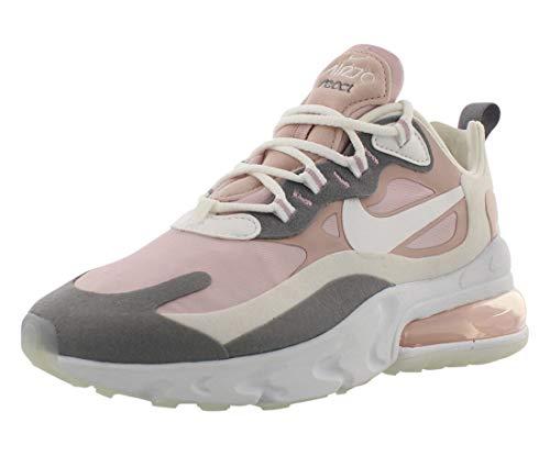 Nike W Air MAX 270 React, Zapatillas para Correr Mujer, Multicolor Plum Chalk Summit White Stone Mauve Smoke Grey, 38 EU