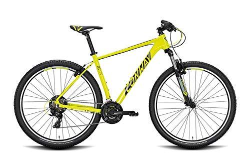 ConWay MS 329 Acid/Black 2020 RH - Bicicleta de montaña para hombre (51 cm/29 pulgadas)