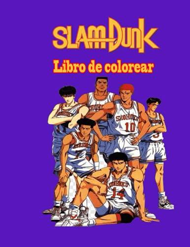 Slam Dunk libro de colorear