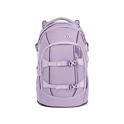 Satch pack Schulrucksack - ergonomisch, 30 Liter, Organisationstalent - Sakura Meshy - Lavendel