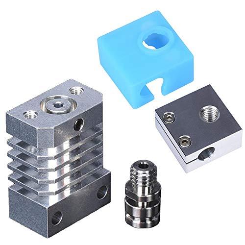 Fltaheroo CR10 Radiator,Swiss CR10 Hotend Titanium Thermal Circuit Breaker Hose for CR-10 Ender-3 Printer