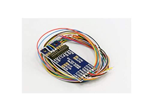 ESU 51958 Adapterplatine PluX22 für 9 Ausgänge